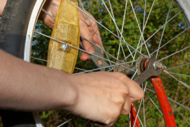 bicycle wheel repairs